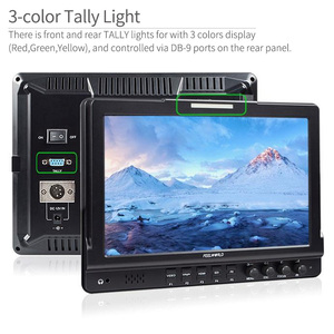 """Image 2 - Feel world FW1018V1 10.1 """"IPS 4K HDMI كاميرا جهاز المراقبة الميدانية كامل HD 1920x1200 شاشات كريستال بلورية ل DSLR فيديو فيلم اطلاق النار ستابليزر"""