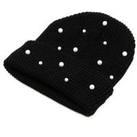 Недорогая шапка с жемчужинами