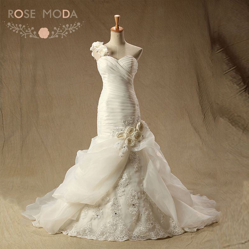 Bustling a mermaid wedding dress : Buy wholesale bustle wedding dress from china
