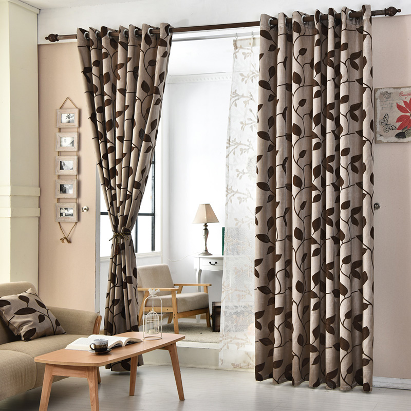 Curtain For Balcony: Free Shipping Room Kitchen Living Jacquard Door Panel For