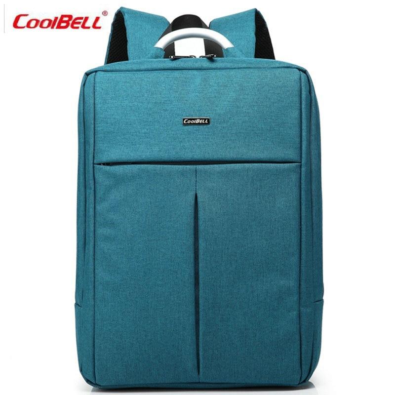 COOLBELL Laptop Backpack Men Women Bolsa Mochila for 14/15Inch Notebook Computer Rucksack School Bag for Teenagers-FF