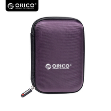 Orico 2.5 inch  Twin Buffer Layer HDD Protector Case Transportable Exterior Laborious Drive Safety Bag PHD-25 – Purple