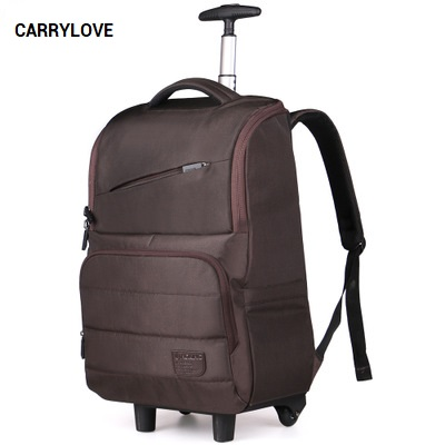 цены CARRYLOVE Business convenient Travel bag 18 size boarding High quality Nylon Luggage Spinner brand Travel Suitcase