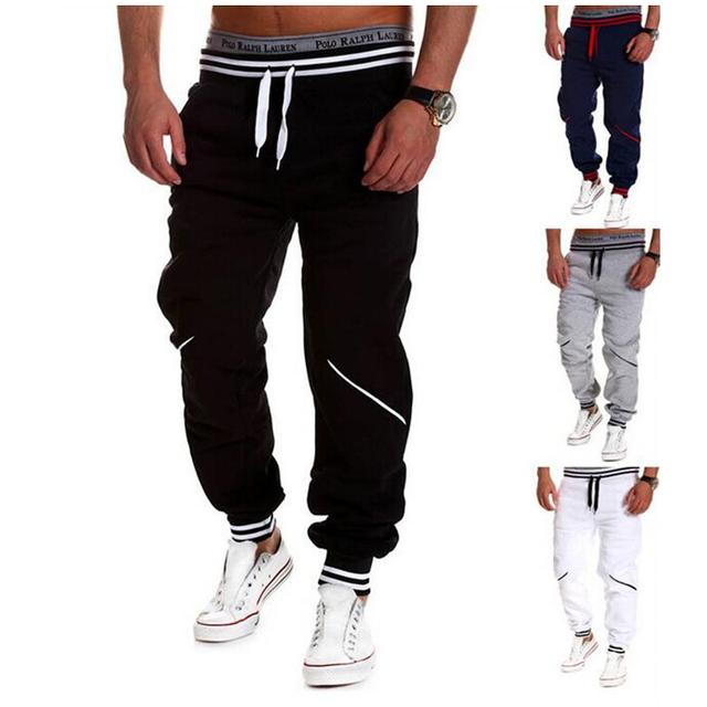 XXXXL Cintura Elástica Con Cordón Pantalones Harem Mens Outwear Pantalones Sueltos Hiphop Streetwear Danza Joggers Pantalón Negro Sólido