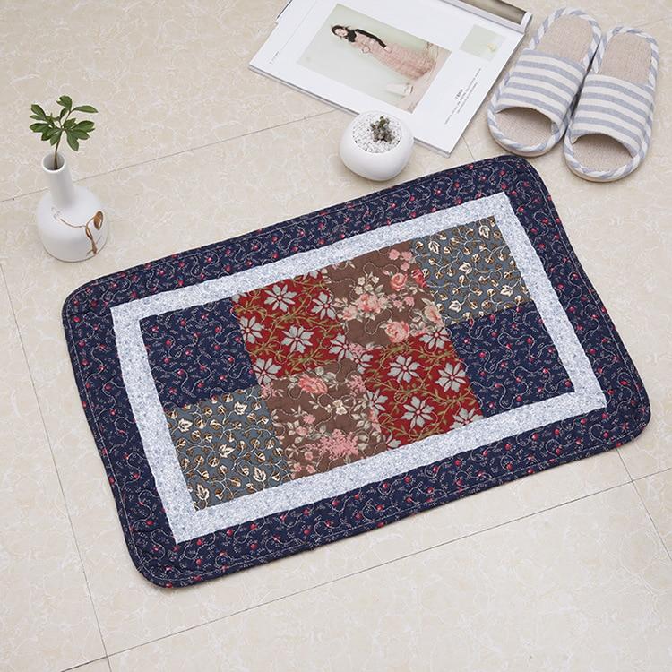 Tapis de sol matelassé matelassé tapis porte tapis chambre cuisine hall tapis de sol absorbant tapis de salle de bain