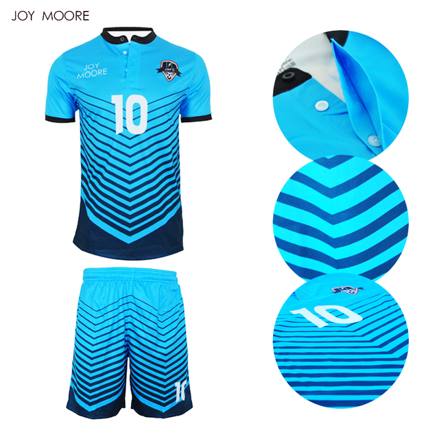 30786de405c58 Diseño o-cuello de fútbol personalizado Fútbol Jersey completa sublimación  imprimir personalizar Fútbol conjuntos