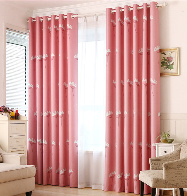 Quality Pastoral Kids room curtains for baby room window curtain ...