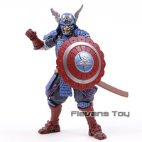 Avengers Infinity War Samurai Captain America Cartoon Toy Action Figure Model Doll Gift
