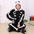 Skeleton Pajamas For Adults Women Skeleton Cosplay Costumes Family Christmas Pajamas Halloween Party Anime  Jumpsuit kigurumi