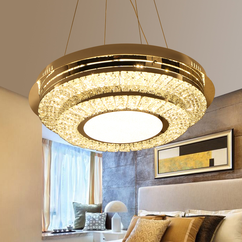 IWHD Crystal LED ceiling Lamps For Living Room Bedroom Plafondlamp Modern Ceiling Lighting Fixtures Lamparas de Techo Lustre