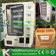 smaller snack coffee vending machine with coin acceptor and bill acceptor