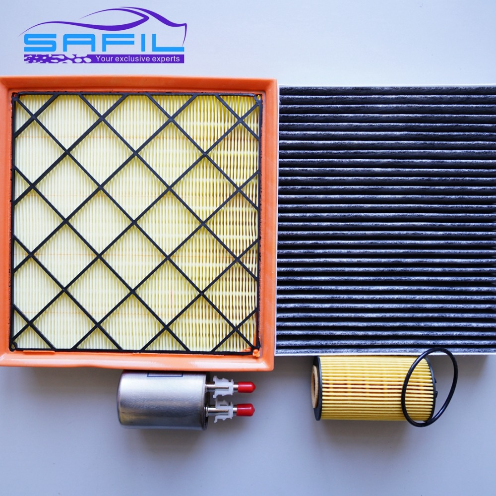 air filter + Oil filter + cabin filter + Fuel filter for Chevrolet Cruze  1.6 1.8 13272717 13271190 93185674 13253690-in Air Filters from Automobiles  ...