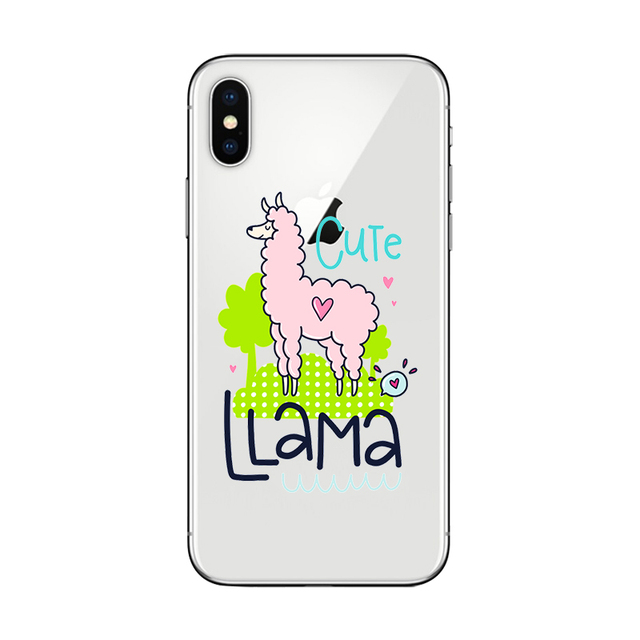Cute Llama iPhone Case