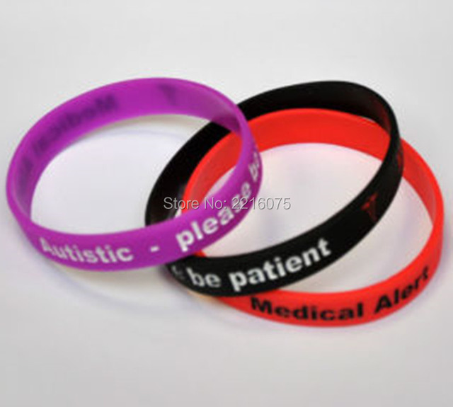 kids with their medical bracelets autistic parents code id help bracelet qr blog autism velcro