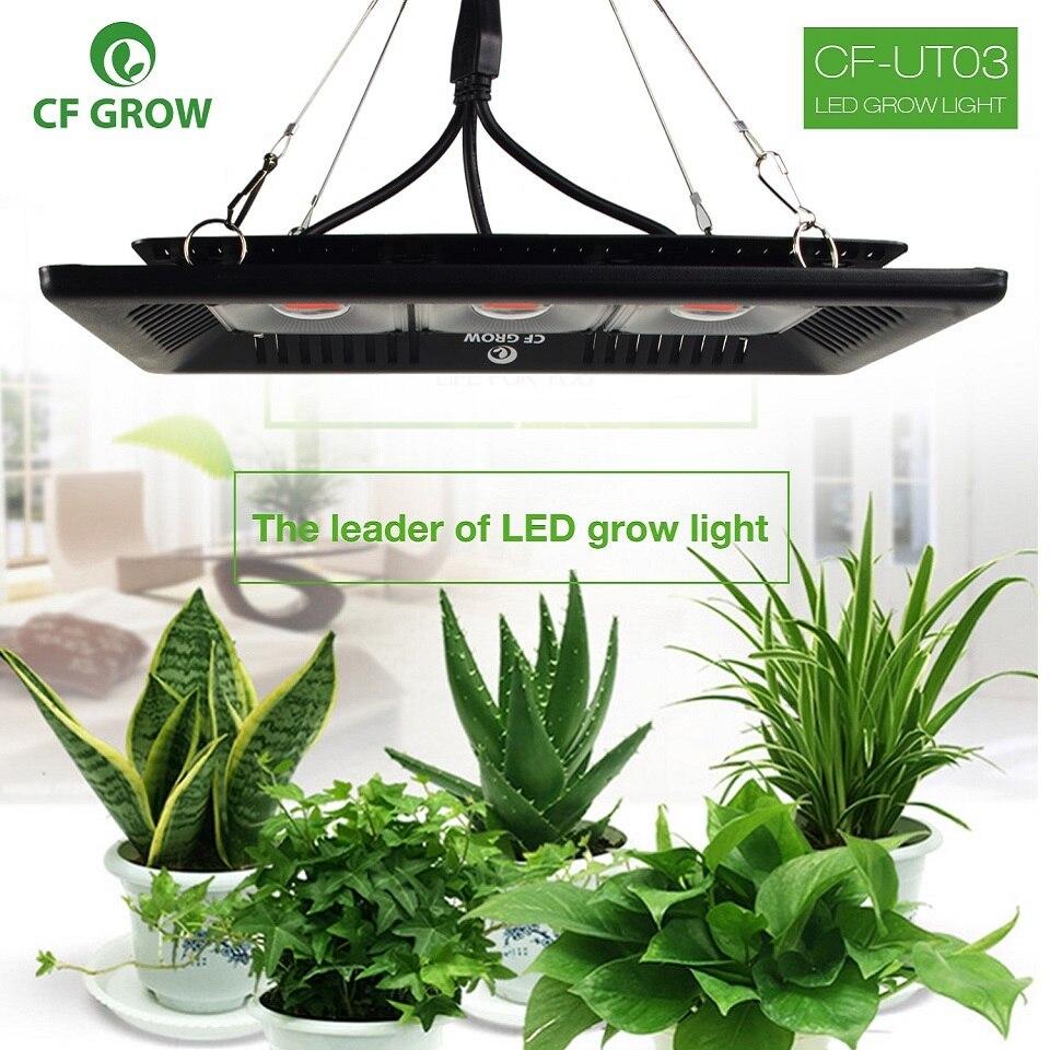 CF grandir COB Led pousser la lumière Ultra-mince imperméable à l'eau à spectre complet culture hydroponique pour les plantes d'intérieur de légumes et de fleurs