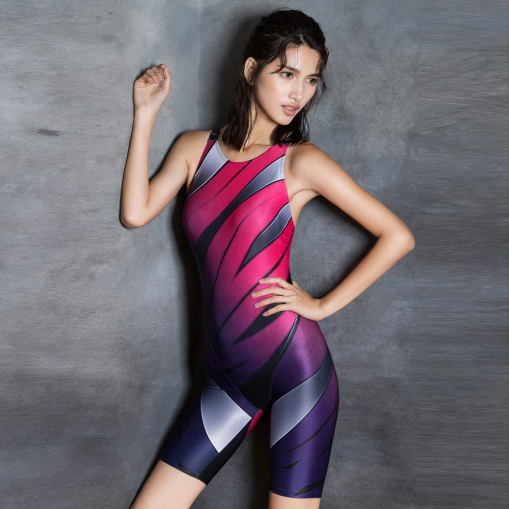 Women arena swimwear triathlon suit sport swimsuit women black body suit swimming costume women plus size one piece swimsuit(China)