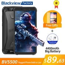 Blackview BV5500 Smartphone IP68 Su Geçirmez 5.5 inç 18:9 HD + IPS Android 8.1 3G Cep Telefonu 8.0MP Kamera GPS sağlam cep telef...