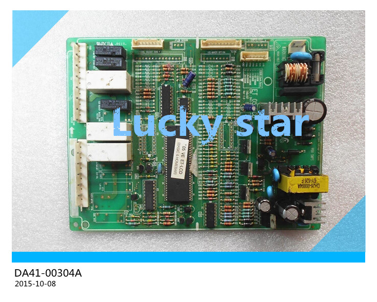 95% new for Samsung refrigerator pc board Computer board DA41-00304A ET 05 LCD board good working 95% new original good working refrigerator pc board motherboard for samsung rs21j board da41 00185v da41 00388d series on sale