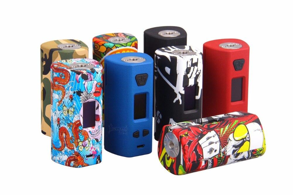 Cigarettes électroniques d'origine Yosta Livepor 200 boîte Mod double batterie TC vaporisateur 0.08-3ohm 6 mode différent Vape Mod
