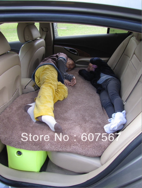 Unflattering auto supplies inflatable mattress