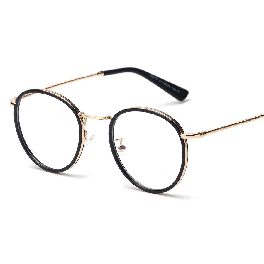 Ultraleicht TR Harajuku Nerd Brillen Vintage Auge Rahmen Männer Gold ...