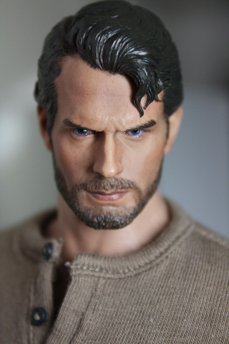 1/6 scale figure doll head shape for 12 action figure doll accessories superman Man of Steel Henry Cavill male Head carved 1 6 scale nude male body figure muscle man soldier model toys for 12 action figure doll accessories