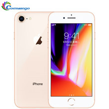 Original apple iphone 8 1821mah 2gb ram 64gb/256gb lte 12.0mp câmera 4.7