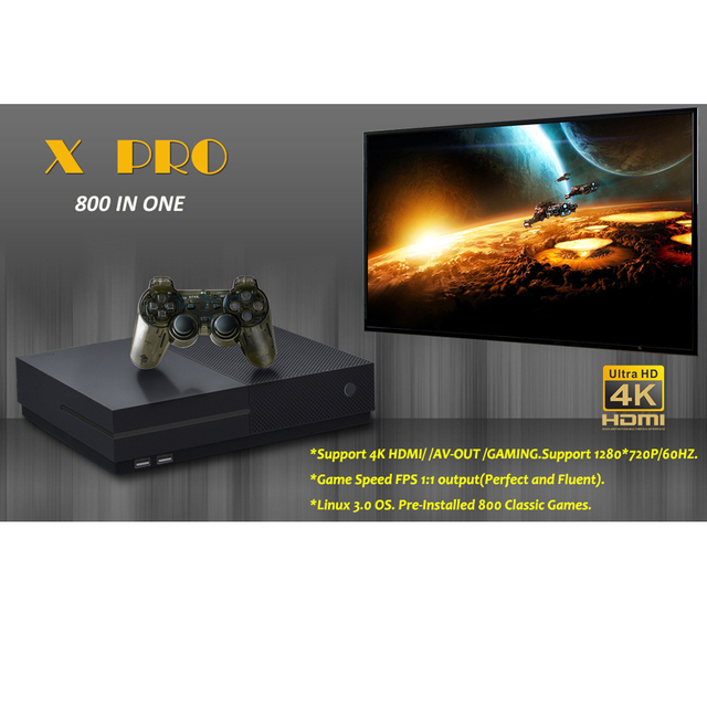 2018 HD Video Game Console 64 Bit Support 4K Hdmi Output Retro 800 Classic Family Video Games Retro Game Console To TV X PRO 85 5