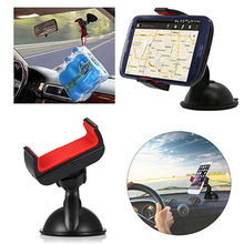 360 degree Rotated Car Holder Windshield Mount Bracket Stand for Mobile Cell Phone GPS(China)