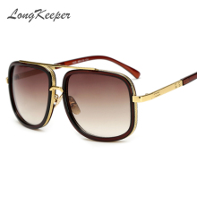 LongKeeper Oversized Men Sunglasses men luxury brand Women Sun Glasses Square Male Gafas de sol female sunglasses for men women