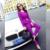 Senhoras Terno de Calça 2016 Nova Marca 2 Peça Set Mulheres Elegantes Blazer Tops com Calças Lápis Conjuntos de Traje