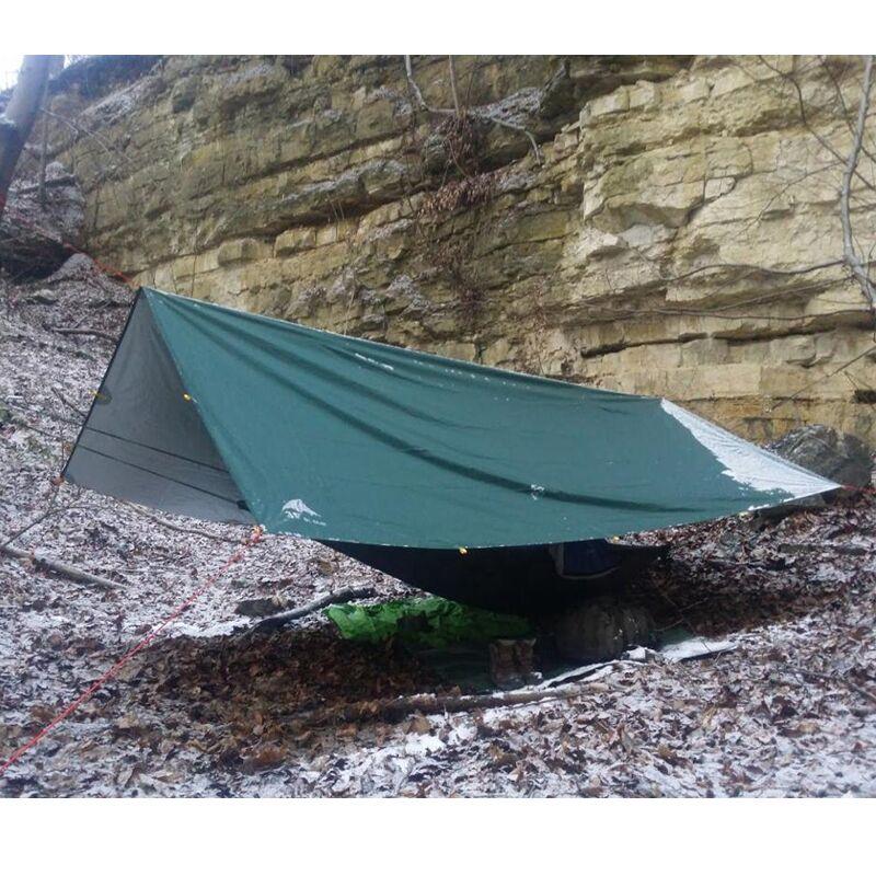 3F ul Gear ultraléger revêtement en argent Anti UV abri soleil tente de plage Pergola auvent auvent 210 T taffetas bâche Camping auvent tente