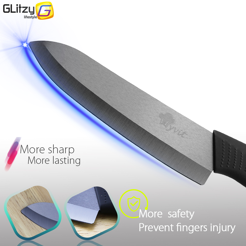 aliexpress com buy ceramic knife zirconia 3 4 5 6 inch paring aliexpress com buy ceramic knife zirconia 3 4 5 6 inch paring slicer utility chef colored kitchen knives set peeler black blade cooking knife set from