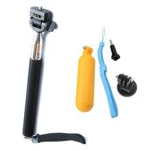 SJ4000 Equipment go professional monopod with tripod mount + Handler Floating hand grip bobber for gopro hero 5 four 2 three+ sj4000 sport cam