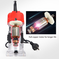 220VAC 800W Trimming Machine Woodworking Power Tools Multi function Home Decoration Engraving Wood Milling DIY High Slot Machine|Electric Trimmers|Tools -