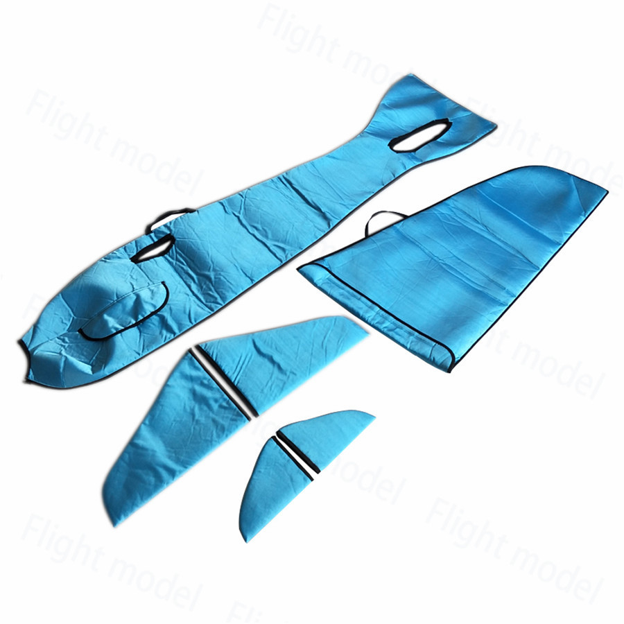 Flight Fuselage & Wing Protection Bags sprcial For F3A 110E RC Model Plane Aircraft Blue