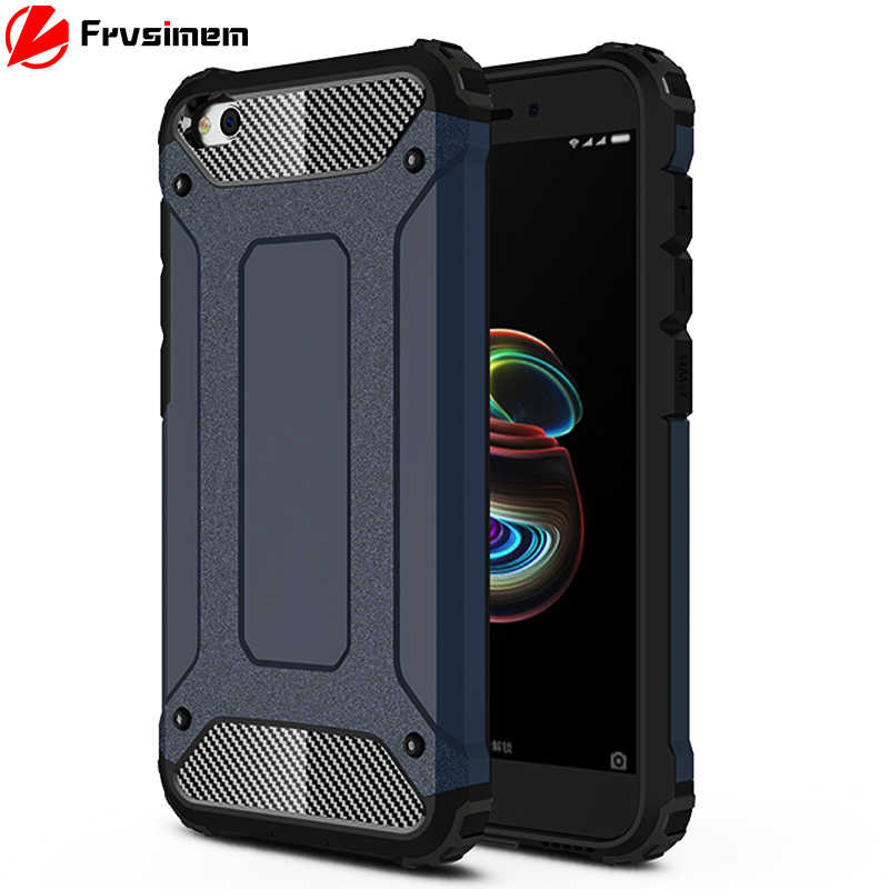 2 in 1 Shockproof Case For XiaoMi RedMi GO 5.0inch RedMIGO Capa Cases Armor Slim Hard PC + Silicone Mobile Phone Rugged Cover