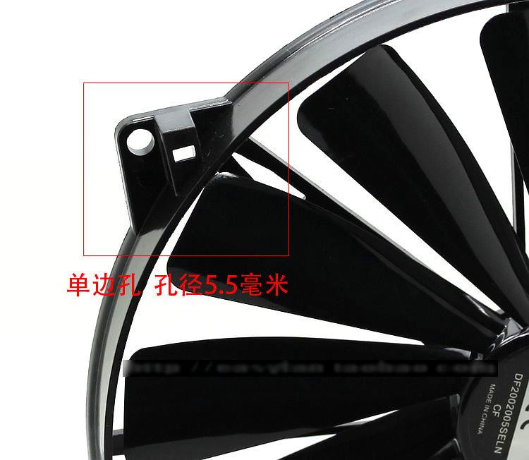 New Original FONSONING A0-07CA-2JN-F1 DF005SELN 5V 0.30A cm 0*0*MM USB cooling fan