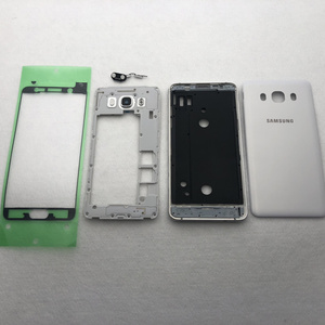 Image 2 - For Samsung Galaxy J5 J510 J7 J710 2016 Full Housing Case Middle Frame+Back Cover J510F J710F Button Volume Button Replacement