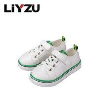 Crianças classic canvas shoes meninas meninos moda sneakers suave sole instrutor casual plano lace-up do bebê dos miúdos (criança/big kid)