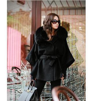 Women Winter Wool Blend Coat Plus Size 1