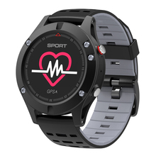 Original NO.1 F5 GPS Smart Watch Bluetooth 4.2 Altimeter Barometer Thermometer Smartwatch Wearable Devices for iOS Android
