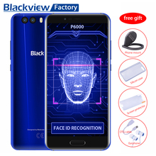 Blackview P6000 Face ID+Touch ID 4G Cell phone 21.0MP Camera 5.5″FHD 6GB+64GB Mobile phone GPS Android 7.1 Octa Core Smartphone