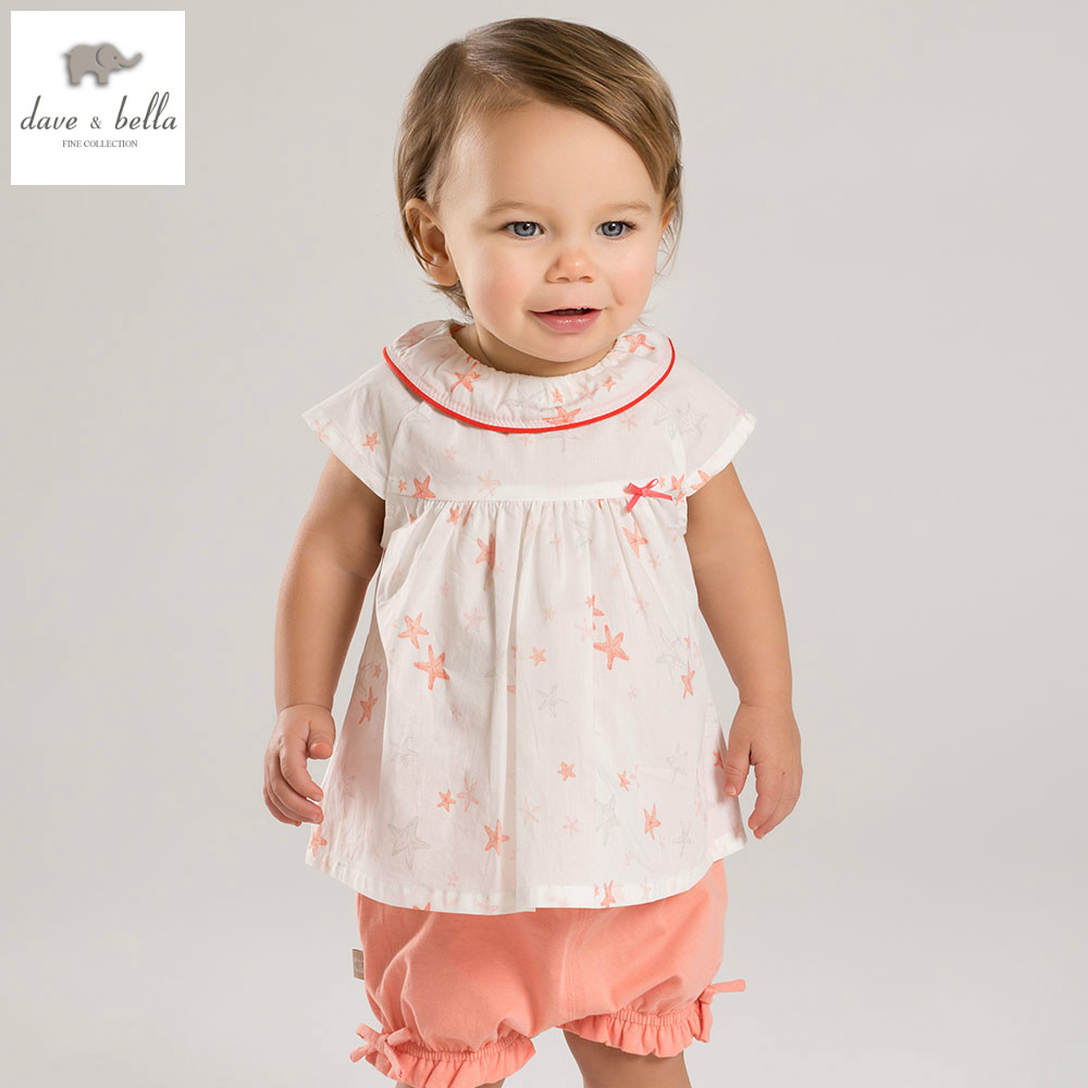 DB4947 dave bella summer baby girls clothing sets child lovely sets kids toddler cloth baby fancy clothes children clothing sets db5192 dave bella summer baby girls fashion clothing sets kids stylish clothing sets toddle cloth kids sets baby fancy clothes