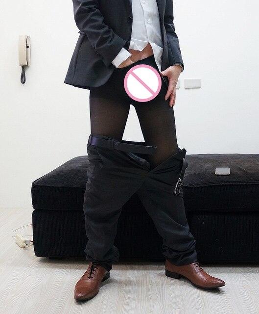 Men 's  Sexy Business Socks Mens Socks Cored Wire Gentleman Men Socks Male Stockings Ultra - Thin