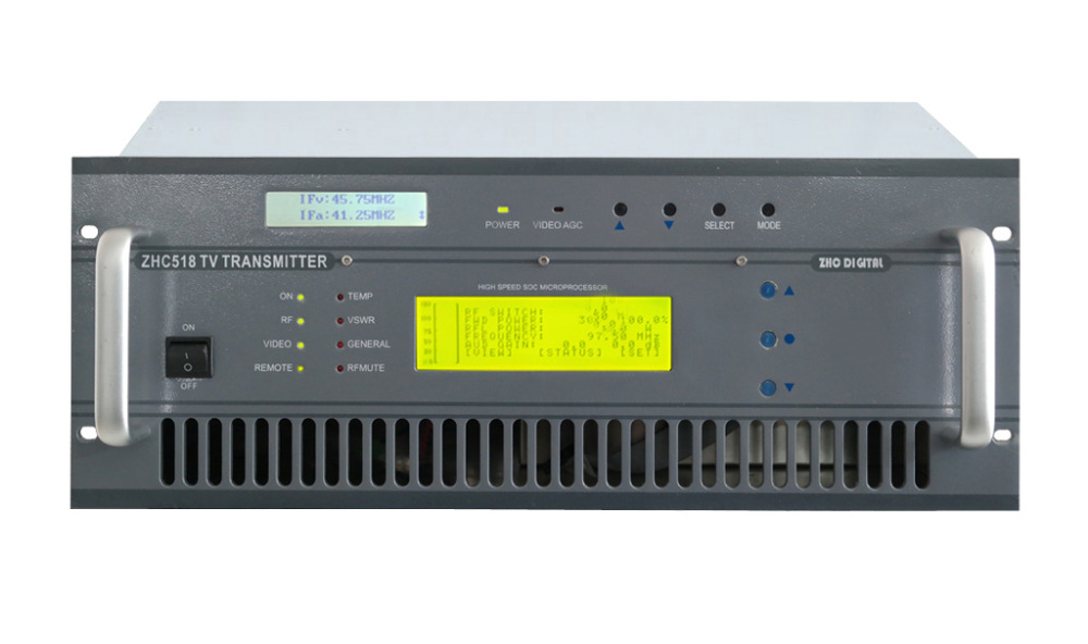Czh518a-200w одноканальный аналоговый ТВ передатчик UHF 13-48 канала ТВ трансляции продукты