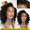 Brazilian Hair Short Lace Front Wig Natural Hairline Loose Wave Full Lace Human Hair Wigs With Baby Hairs New Virgin Hair Wig