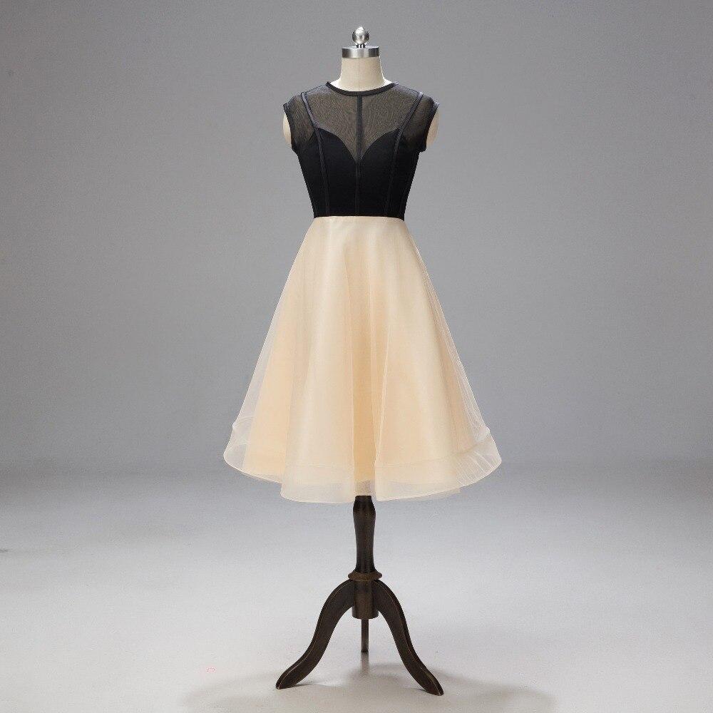 Charming Homecoming Dress 2019 Sexy Illusion Party Dresses Bridesmaid Graduation Dresses Vestido De Formatura L1140