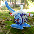 Cartoon inflatable toy Inflatable model of the helicopter Inflatable toys children toy plane