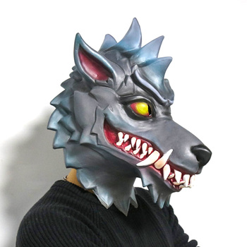 Battle Royale Dire Wolf Mask Figure Toys Cosplay Mask Adult the mask jim carrey movie film toys figure green alien mask